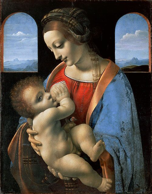 Portrait_of_Leonardo_da_Vinci_Mother_№3