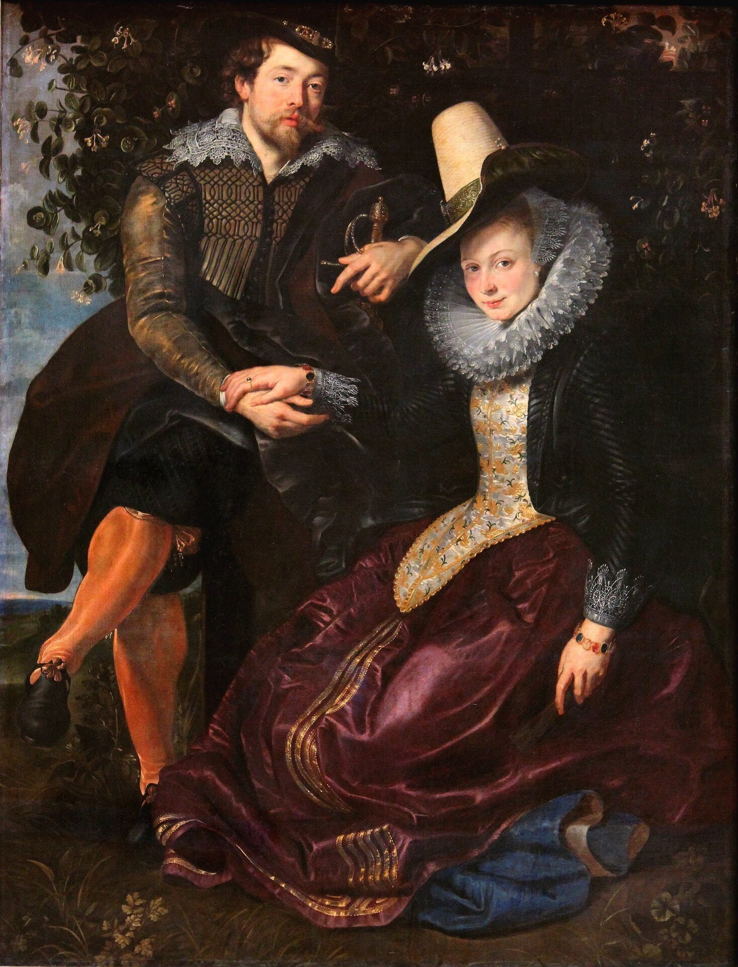 Peter_Paul_Rubens-_The_Artist_and_His_First_Wife,_Isabella_Brant,_in_the_Honeysuckle_Bower